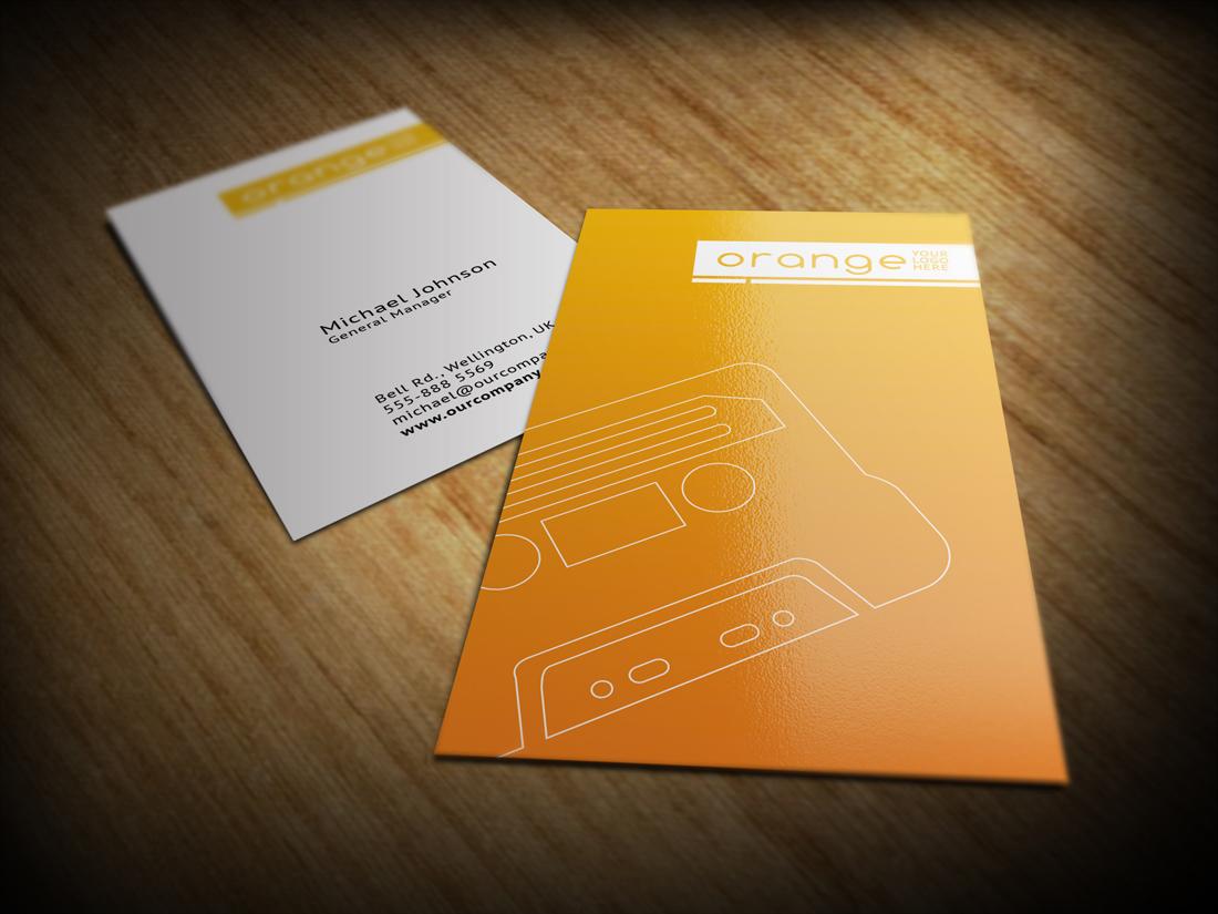ThemeVogue | Portfolio Categories Business Cards & Stationery