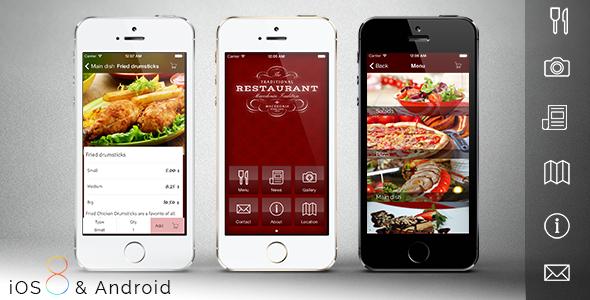 Themevogue restaurant app forumfinder Images